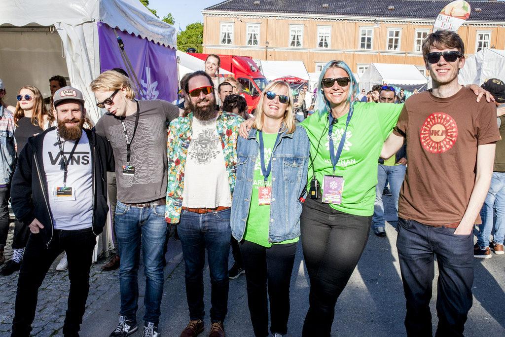 People in Trondheim