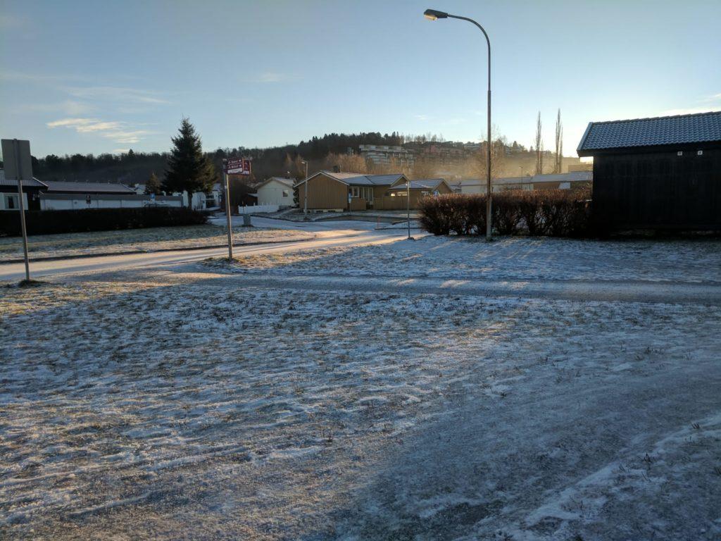 Trondheim in winter